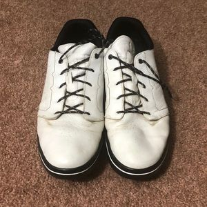 Under Armour Shoes - Under Armour Men's White Leather Golf Shoes